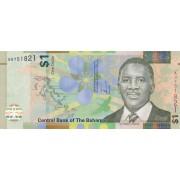 Bahamai. 2017 m. 1 doleris. P77. UNC