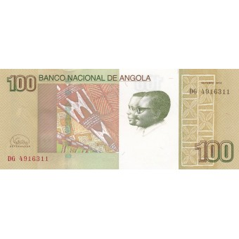 Angola. 2012 m. 100 kwanzas. P153. UNC
