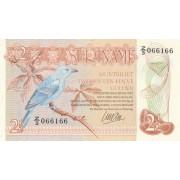 Surinamas. 1985 m. 2 1/2 guldeno. UNC
