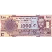 Paragvajus. 2004 m. 1.000 gvaranių. UNC