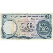 Škotija. 1979 m. 5 svarai