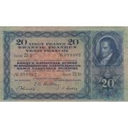 Šveicarija. 1949 m. 20 frankų