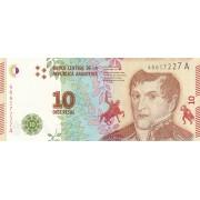 Argentina. 2016 m. 10 pesų. P360a. UNC