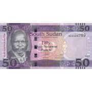 Pietų Sudanas. 2015 m. 50 svarų. UNC