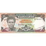 Svazilandas. 1987 m. 2 emalangeni