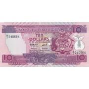 Solomonų Salos. 1986 m. 10 dolerių. UNC
