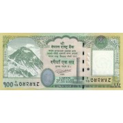Nepalas. 2015 m. 100 rupijų. UNC