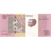 Angola. 2012 m. 10 kvanzų. UNC