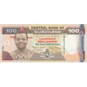 Svazilandas. 2008 m. 100 emalangeni. UNC