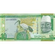 Gambija. 2015 m. 10 dalasis. UNC