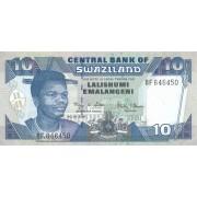 Svazilandas. 2006 m. 10 emalangeni. UNC