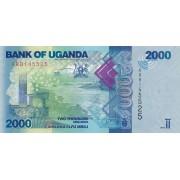 Uganda. 2010 m. 2.000 šilingų. UNC