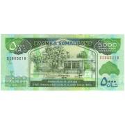 Somalilandas. 2015 m. 5.000 šilingų. UNC