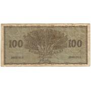 Suomija. 1955 m. 100 markių
