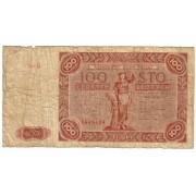Lenkija. 1947 m. 100 zlotų