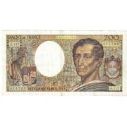 Prancūzija. 1992 m. 200 frankų