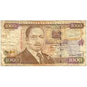 Kenija. 1997 m. 1.000 šilingų