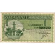 Surinamas. 1967 m. 1 guldenas