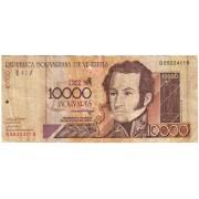 Venesuela. 2002 m. 10.000 bolivares