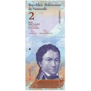 Venesuela. 2012 m. 2 bolivarai. UNC