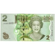 Fidžis. 2011 m. 2 doleriai. UNC