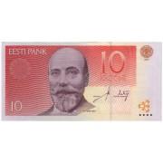 Estija. 2007 m. 10 kronų. P86b. UNC