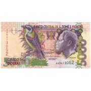 San Tomė ir Prinsipė. 2004 m. 5.000 dobras. UNC