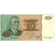 Suomija. 1980 m. 10 markių