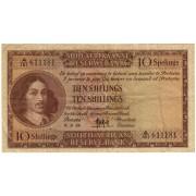 Pietų Afrika. 1958 m. 10 šilingų