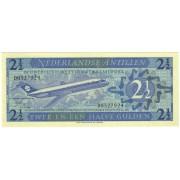 Nyderlandų Antilai. 1970 m. 2.5 guldeno. UNC