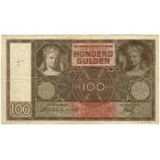 Nyderlandai. 1938 m. 100 guldenų