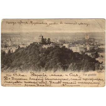 Vilnius. 1903 m.