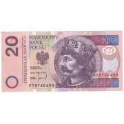 Lenkija. 1994 m. 20 zlotų