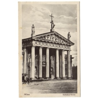 Vilnius. 1918 m. Katedra